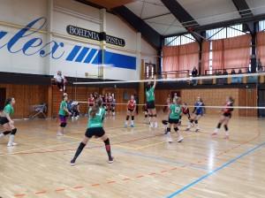 Kadetky-juniorky proti Novému Boru